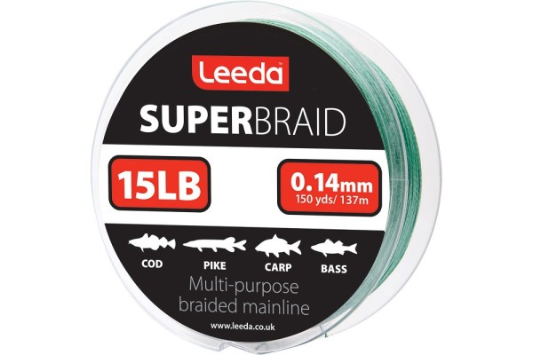Leeda Super Braid 137m 15lb 0,14mm