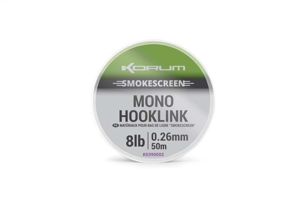Korum Smokescreen Mono 0,26mm 8lb 50m