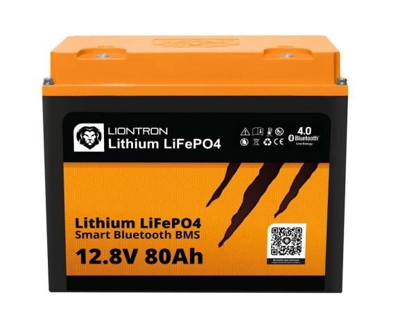 Liontron LiFePO4 12,8V 80Ah LX smart BMS mit Bluetooth