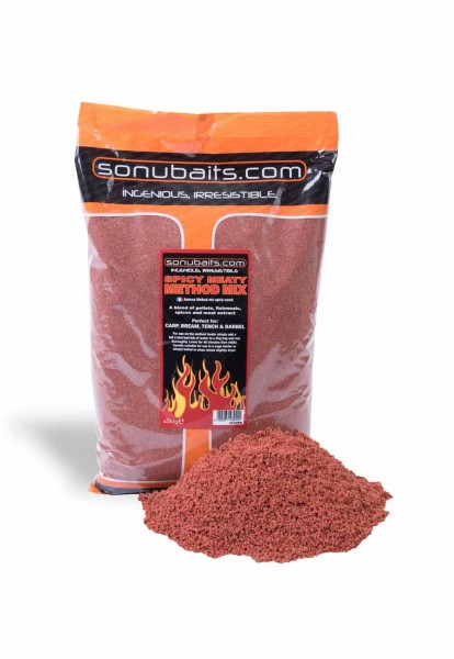 Sonubaits Spicy Meaty Method Mix (2kg)