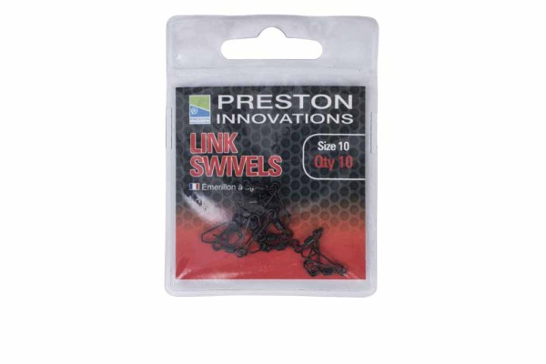 Preston Link Swivels - Size 10