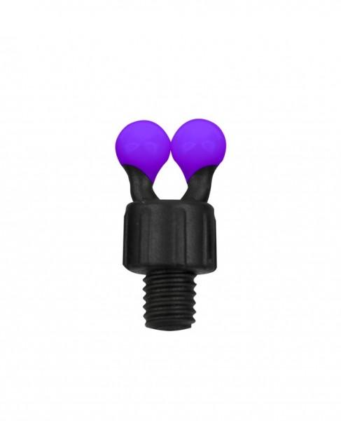 Fox Black Label Coloured Ball Clip - Purple