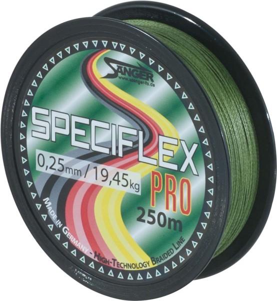 Speciflex Pro 250m oliv 0,10mm 9,65kg