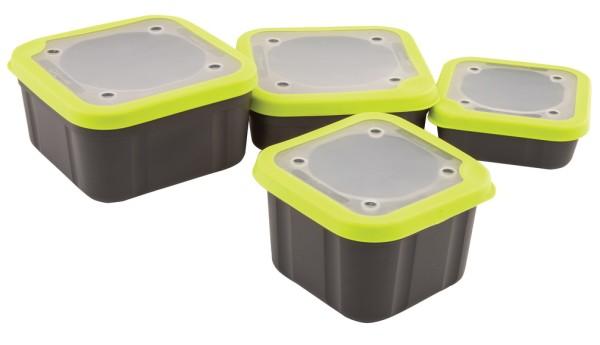 Matrix Grey/Lime Bait Box Solid Top 1ltr Compact