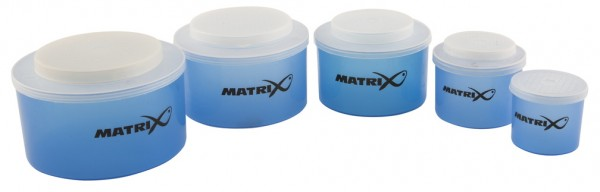 Matrix Bait Box Measure 5pc Set 1/8 - 1L