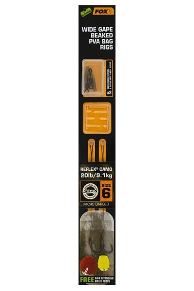 15 Stück Fox Karpfenangeln Zubehör Edges Anti-Tangle Sleeve XL Trans Khaki