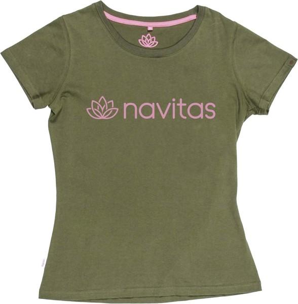 Navitas NTTT4818 Womens Tee green Gr. M
