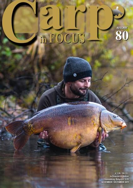 Carp in Focus Zeitschrift Ausgabe 80