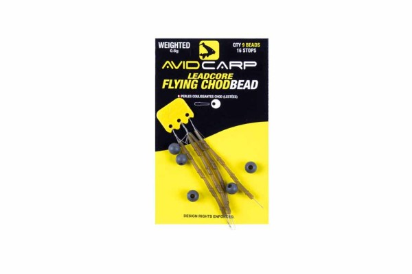 Avid Carp Weighted Leadcore Flying Chod Beads