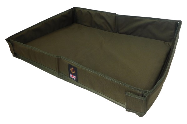 Cotswold Aquarius Green Canine Travel Crib - Large