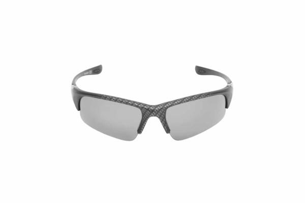Preston Polarised Sunglasses - Carbon - Grey Lens