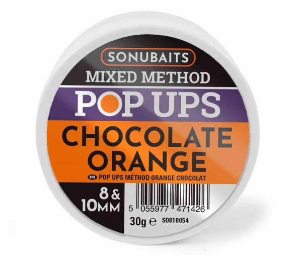 Sonubaits Mixed Method Pop Ups Chocolate Orange