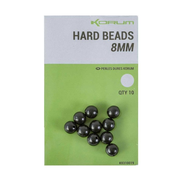 Korum Hard Beads 8mm