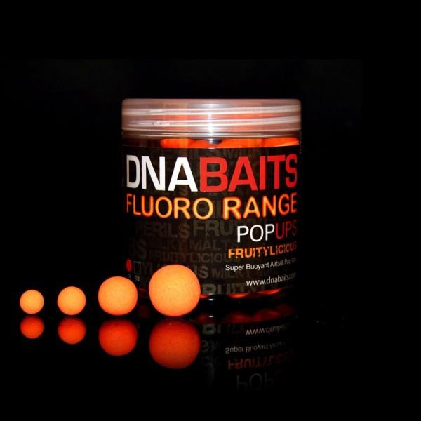 DNA Baits Fluoro Pop Up Fruitylicious 18mm