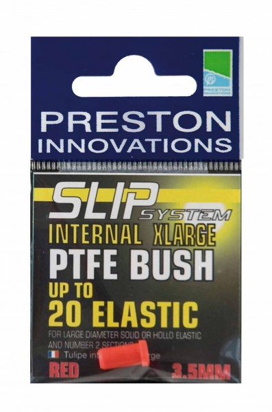 Preston S/S Slip Internal X Large PTFE Bush White 2.6mm