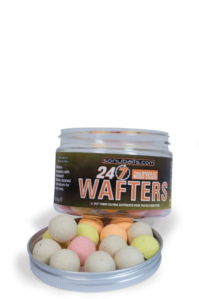 Sonubaits 24-7 15mm Mixed Colour Wafters