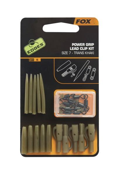 Fox Edges Power Grip Lead Clip Kit