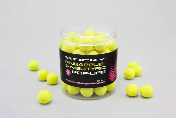 Sticky Baits Pineapple and N Butyric Pop-Ups 100g
