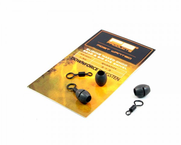 PB Products DT Naked Chod Bead 1,5g & Big Eye Swivel