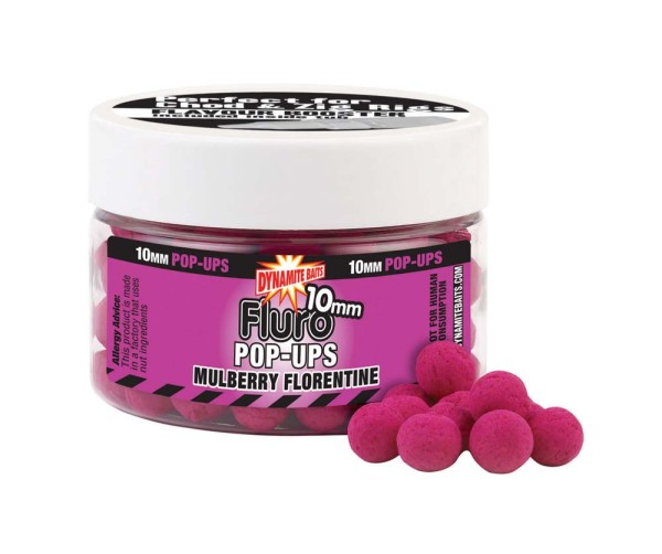 Dynamite Baits Fluro Pop Mulberry Florentine 10mm