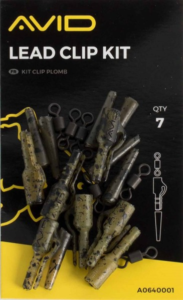 Avid Carp Outline Lead Clip Kit