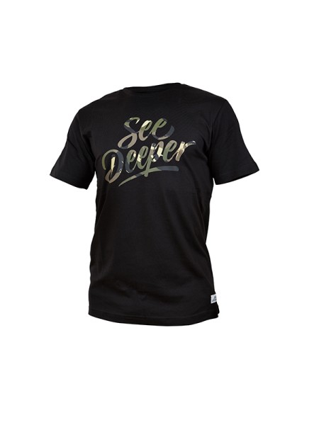 Fortis T-Shirt See Deeper - Black - Small