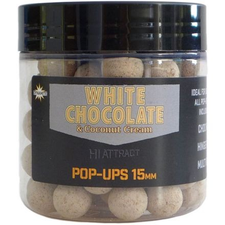 Dynamite Baits White Choco&Coco Pop Ups 15mm