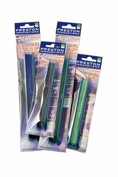 Preston Slip Elastic 12 - Extra Green
