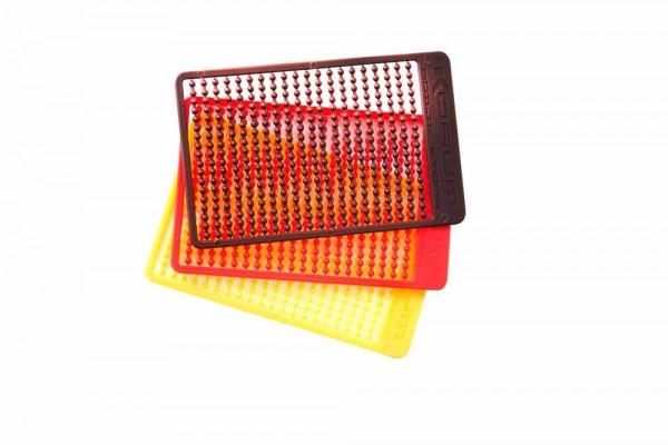 Korum Xpert Boilie Stops - Red - Yellow - Brown