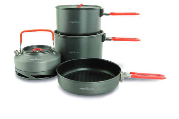 Fox Cookware Large 4pc Set