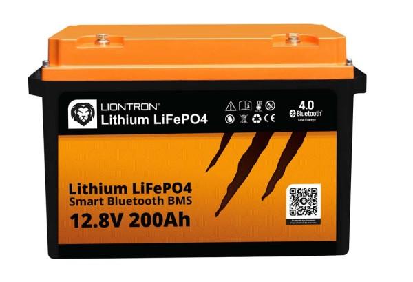 Liontron LiFePO4 12,8V 200Ah LX smart BMS mit Bluetooth