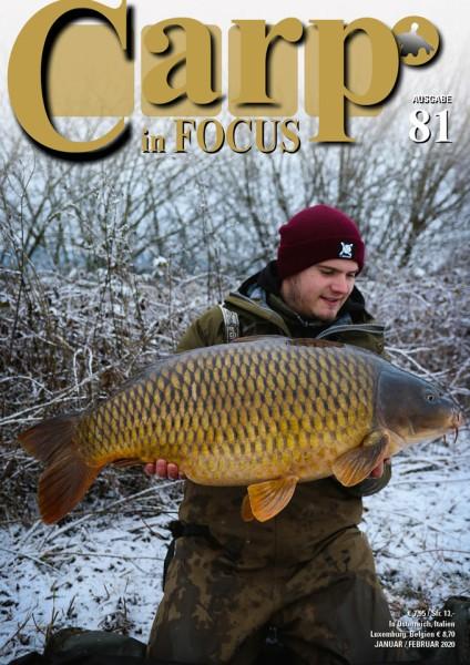 Carp in Focus Zeitschrift Ausgabe 81