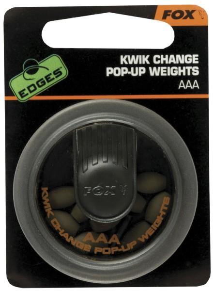 Fox Edges Kwik Change Pop-Up Weight AAA