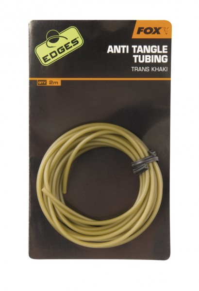 Fox Edges Anti-Tangle Tube Trans Khaki