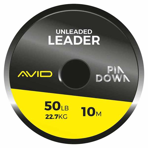 Avid Carp Pin Down Unleaded Leader 50lb