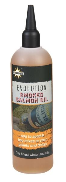 Dynamite Baits Evolution Oil 300ml Smoked Salmon