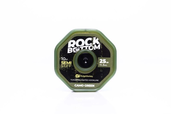 RidgeMonkey Rock Bottom Semi stiff 10m Green 25lb