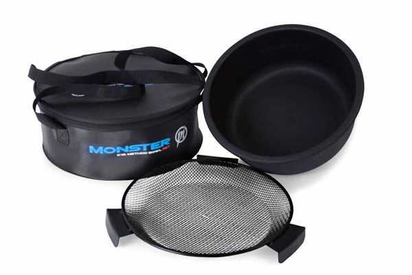 Preston Monster EVA Method Bowl Set With Zipped Lid