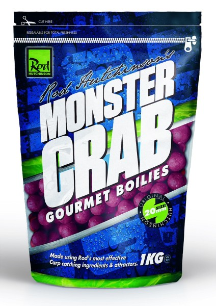 Rod Hutchinson Monster Crab Gourmet Boilie 20mm 1kg
