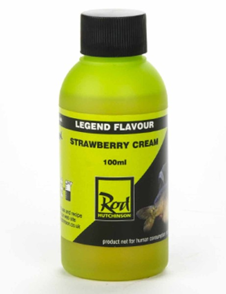 Rod Hutchinson Legend Flavour Strawberry Cream 100ml