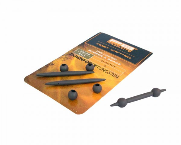 PB Products DT Heli-Chod Rubber + Beads