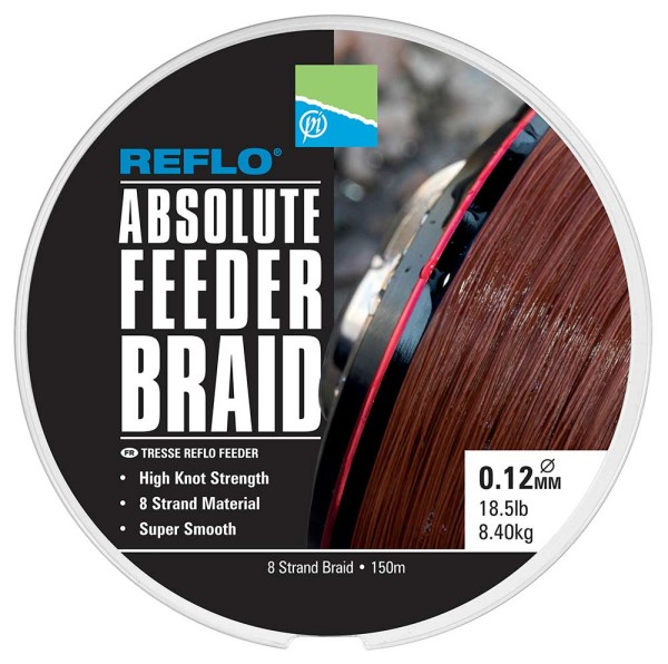 Preston Absolute Feeder Braid 0.12mm