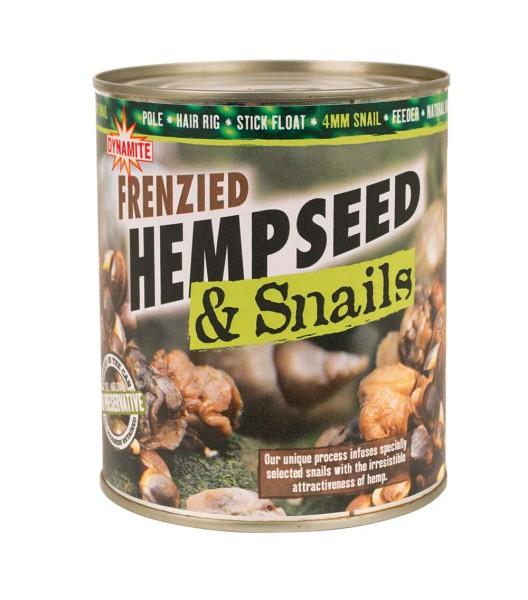 Dynamite Baits Frenzied Hemp&Snails 700g
