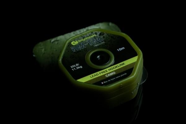 RidgeMonkey RM-TEC Lead Free Hooklink 25lb Camo 10m