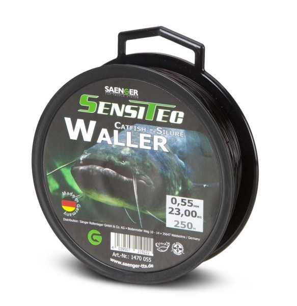 Sensitec Waller Dunkelbraun 250m 0,55mm 23,00kg