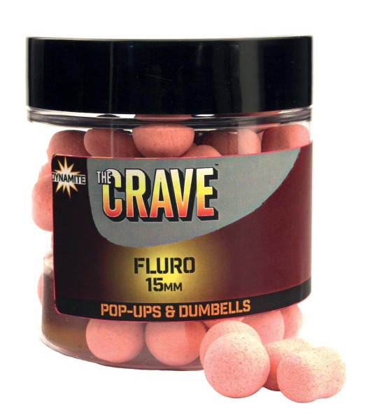Dynamite Baits The Crave Fluro Pop Ups 15mm