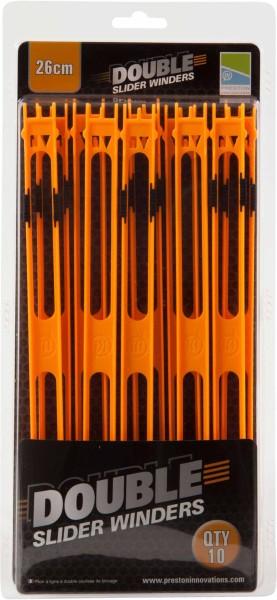 Preston Double Slider Winders 26cm Orange