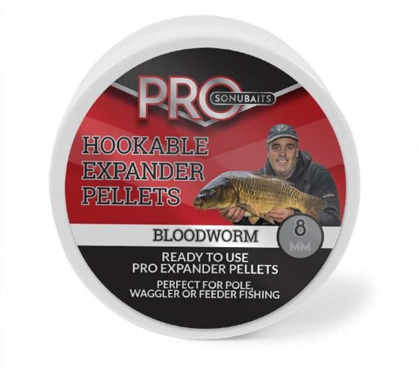Sonubaits Pro Hookable Expander Pellets Bloodworm 8mm