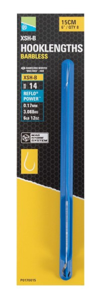 XSH-B Spade End Mag Store Hooklengths - 15cm/6 - 10