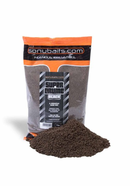 Sonubaits Supercrumb Black (1kg)